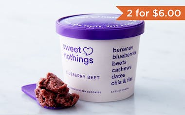 Non-Dairy Blueberry Beet Frozen Snack