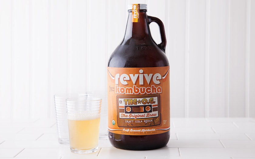 Boogie Down - Black Tea Brew Kombucha