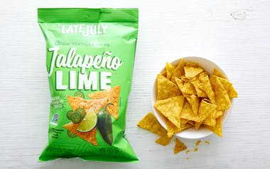 Jalapeño Lime Tortilla Chips
