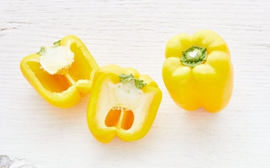 Organic Small Yellow Bell Pepper Duo