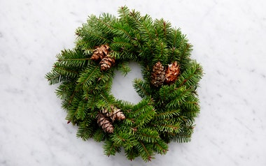 Douglas Fir Candle Wreath