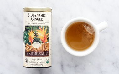 Biodynamic Ginger Tea