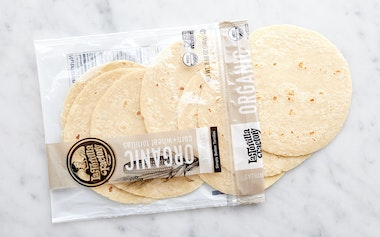 Organic White Corn & Wheat Tortillas