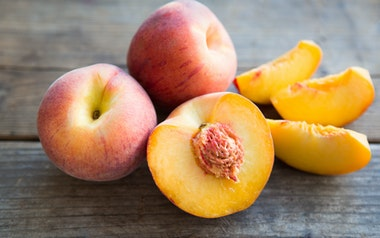 Organic Fairtime Yellow Peach