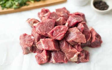 Grass-fed Lamb Kebab Meat (Frozen)
