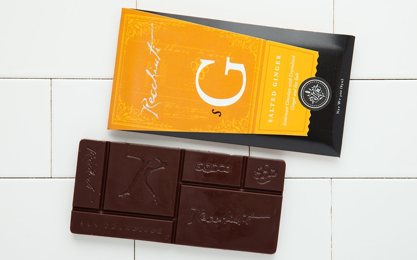 Salted Ginger Chocolate Bar