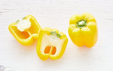 Organic & Fair Trade Yellow Bell Pepper Duo (Mexico)