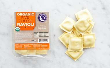 Organic Five Cheese Ravioli