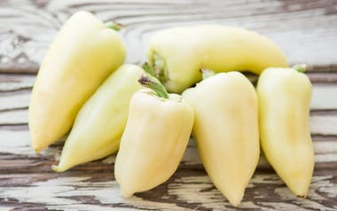 Organic Yellow Gypsy Peppers