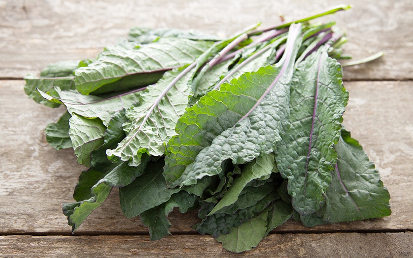Organic Purple-Ribbed Lacinato Kale