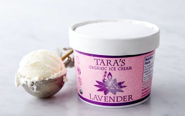 Organic Lavender Ice Cream
