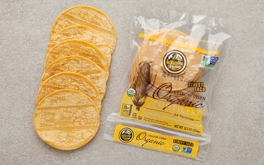 "Organic ""Street Taco"" Yellow Corn Tortillas"