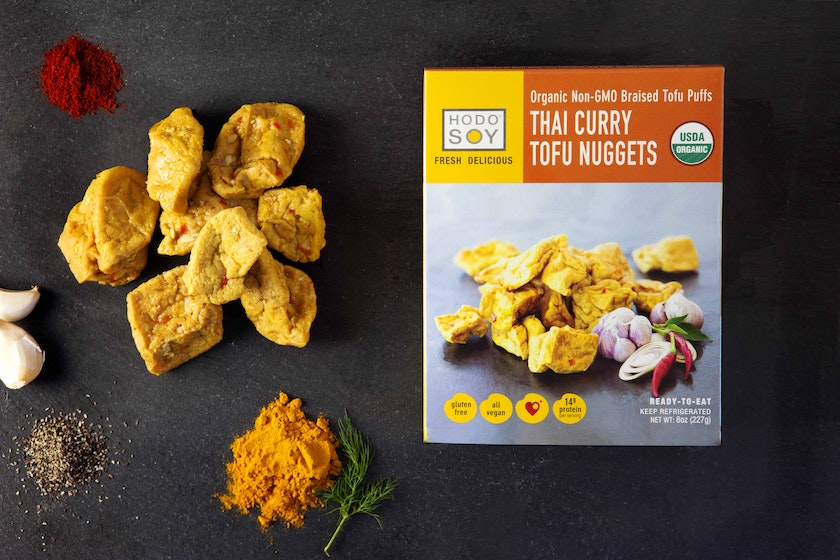 Organic Hodo Thai Curry Tofu Nuggets