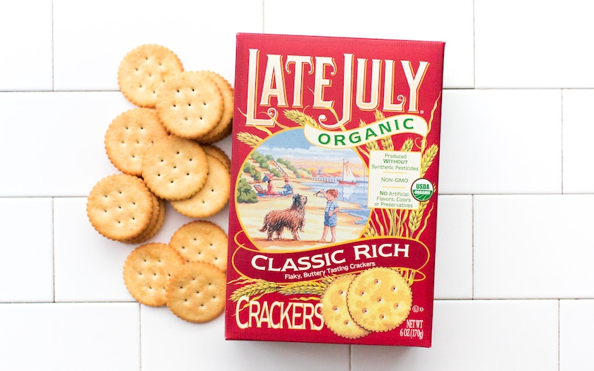 Organic Classic Rich Crackers