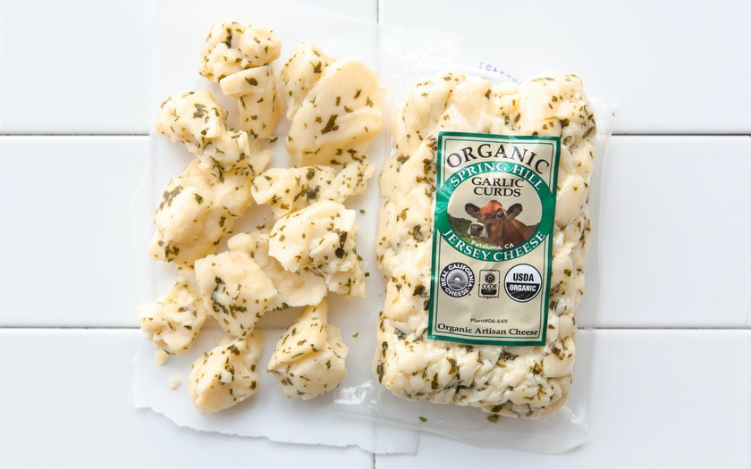Organic Garlic Fresh Curds