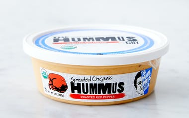 Organic Roasted Red Pepper Hummus