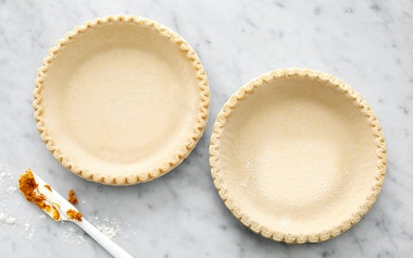 Organic Shaped Pie Crusts