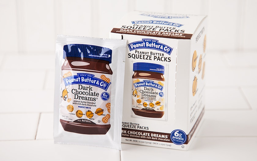 Dark Chocolate Dreams Peanut Butter  Squeeze Packs