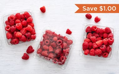 Organic Raspberry 3-Pack (Mexico)
