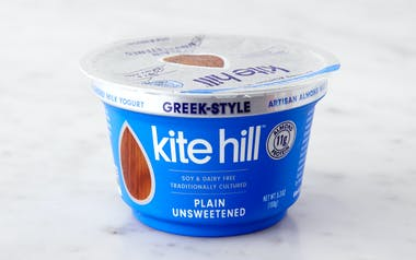 Plain Greek-Style Almond Milk Yogurt