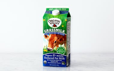 Organic Grass-Fed 2% Reduced Fat Milk