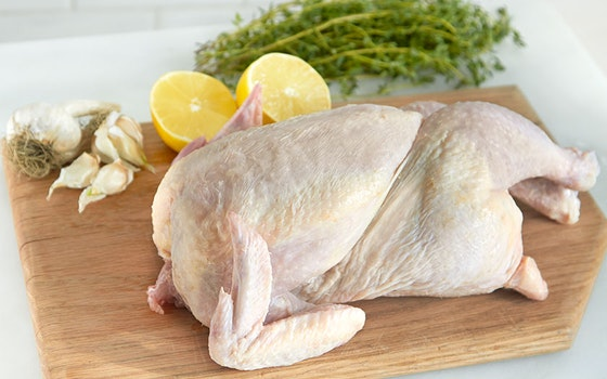 Simple Roast Chicken Dinner