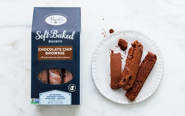 Chocolate Chip Brownie Soft-Baked Biscotti