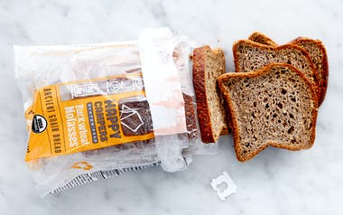 Gluten-Free Organic Buckwheat Molasses Bread