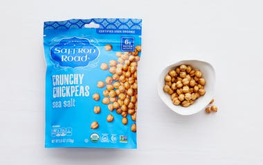 Organic Sea Salt Crunchy Chickpeas