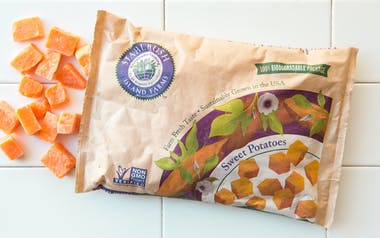 Frozen Sweet Potatoes