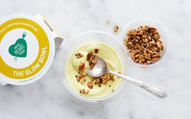 Turmeric & Coconut Yogurt with Maple-Toasted Seeds