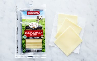 Organic Sliced Mild Cheddar Cheese