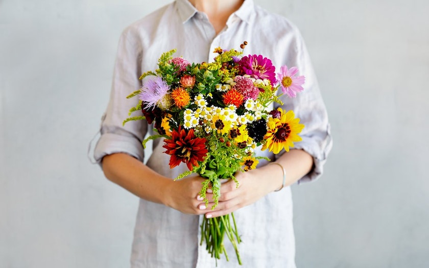 Image result for organic flowers
