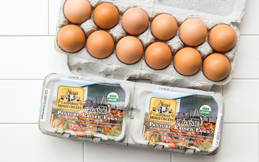 Organic Pasture Raised Eggs (Large)