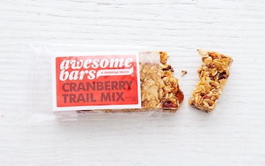 Cranberry Trail Mix Awesome Bar