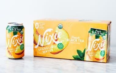 Peach Black Tea Organic Sparkling Water