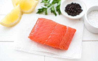 Single Serving Wild Local King Salmon Fillet