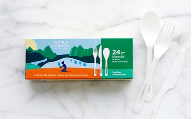 Compostable Assorted Cutlery