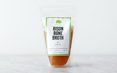 Grass-fed Bison Bone Broth (Frozen)