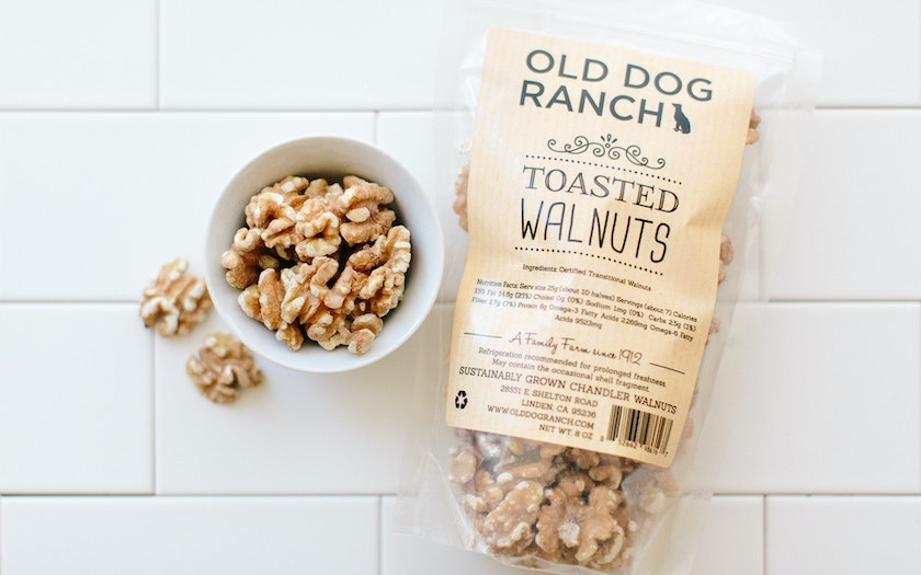 Organic Toasted Chandler Walnut Halves