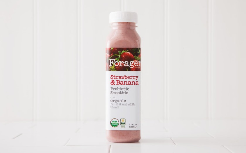 Organic Strawberry Banana Probiotic Cashew Milk